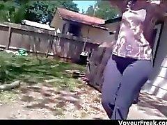 fétiche caméra cachée de plein air réalité