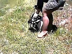 amateur ass fetish outdoor public