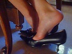 kink shoeplay high-heels