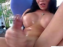 busty masturbation big cock