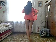 amateur russian striptease