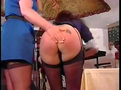 spanking stockings nurses