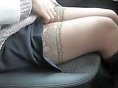 amateur nylon upskirts stockings