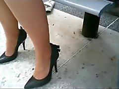 amateur fétichisme des pieds voyeur