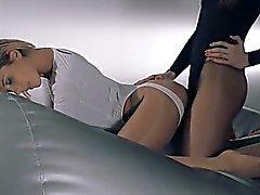 babe blonde lesbian nylon