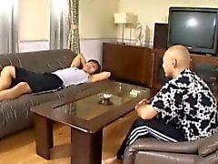 japonês jovens de idade threesomes