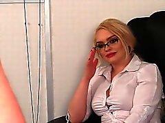babe big boobs blonde cfnm femdom