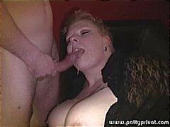 bbw cumshot german fisting