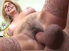 blondine creampie doggystyle behaart