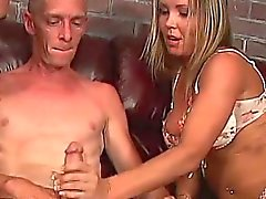 bisexual blowjob brunette hardcore threesome