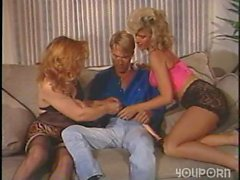 vintage threesome ass blonde