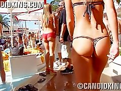 candid teens young babes booty