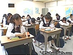 Asian students in the classroom are part6