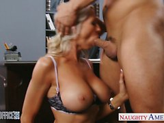 big boobs big cocks blonde blowjob