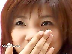bonitinho japonês provocá asiático
