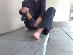 feet mature mature-feet