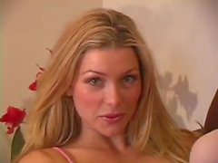 Cute Blond Heather Vandeven Loves To Play Alone - Free