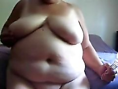 amateur bbw graisse mamie masturbation