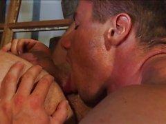 gay gay couple muscular