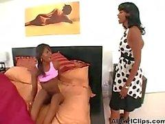 lesbian ebony sex toy big boobs