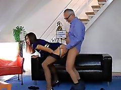 blowjob brünett doggystyle hd