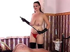 bdsm big boobs brünett domina