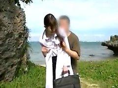 asiático boquete dedilhado japonês