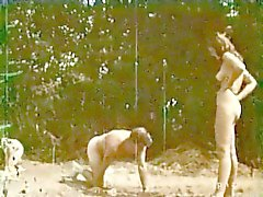femdom spanking threesomes vintage