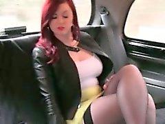 fetish nylon outdoor reality redhead