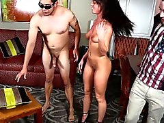babe brunette cuckold doggystyle fetish