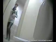 pissing amateur toilet spycam