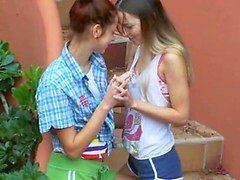 Romantic lesbo adventure from poland