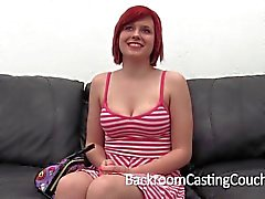 Redhead Girlfriend First Anal