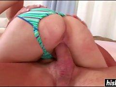 oral sex brunette big tits cum shot
