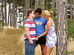 bisexual blonde doggystyle hd outdoor