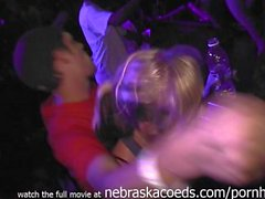 Crazy Rave at Woody's Strip Club in Cedar Rapids Iowa