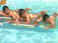 brésilien à l'extérieur masturbation massage