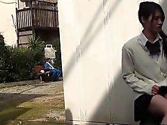 asiático hd japonés al aire libre público