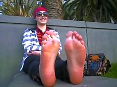 punk girl stinky soles