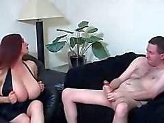 big boobs femdom masturbation