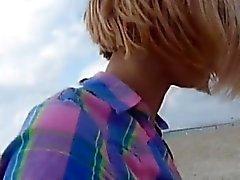 amateur blondine blowjob europäisch