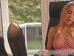 blonde blowjob cuckold handjob old young