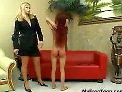 bdsm ezel spanking redhead amateur