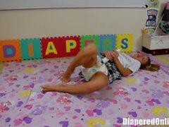 kink masturbate abdl diaper diaper-punishment