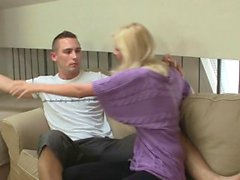 blonde european fingering hd