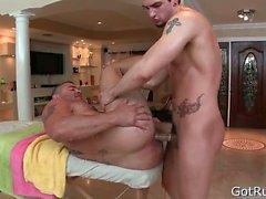 anal gay massage