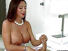 big tits blowjob cougar fellation fucking