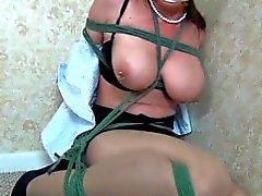 bdsm bondage boubd-and-gagged