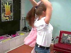 femdom lesbiennes lingerie spanking
