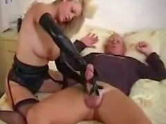 blondes cumshots handjobs latex